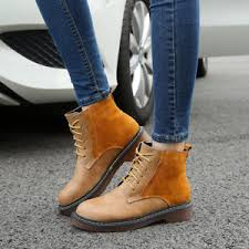 s boots flat s boots martin boots style flat heel