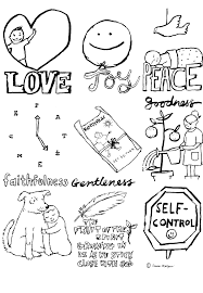 ideas collection fruits of the spirit coloring pages free about