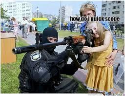 Quickscope Meme - quick scope by katt634 meme center
