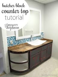 Diy Butcher Block Table Tops Making Butcher Block Table Tops by How To Build A Butcher Block Counter Reality Daydream