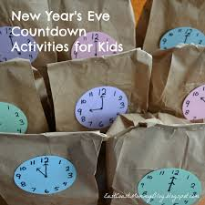 bag new year east coast new year s countdown activities for kids