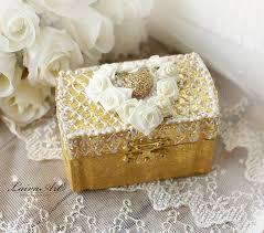 wedding ring holder wedding ring bearer pillow box ring holder boho wedding