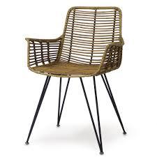 Palecek Chairs Palecek Hermosa Arm Chair Natural Candelabra Inc