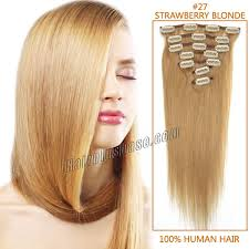 4 Piece Clip In Hair Extensions by 16 34 Inch Clip In Hair Extensions Cheap Clip In Human Hair