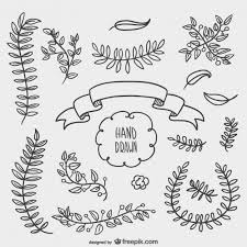 floral ornaments vector free