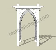Garden Arch Plans by Garden Arbor Diy Plans