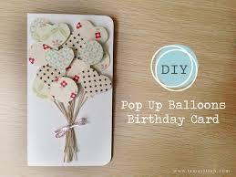diy pop up balloon birthday card u2013 iamartisan