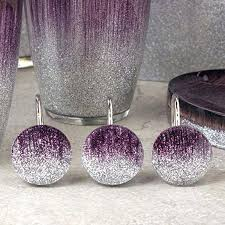 grey bathroom accessories set uk purple sparkling and gray