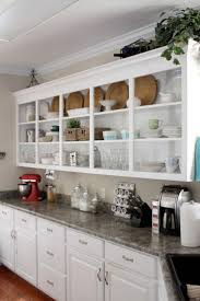 Kitchen Shelves Vs Cabinets Kitchen Shelves Instead Of Cabinets 90 Trendy Interior Or Kitchen