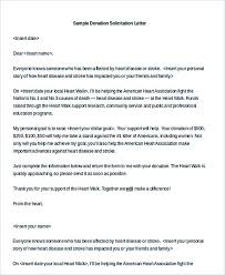 sample donation letter printable solicitation letter for