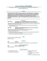 examples of nursing resume resume registered nurse examples