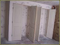 Oversized Closet Doors Awesome Closet Doors With Rail Sliding How Make Plans 9