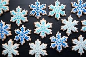 snowflake cookies snowflake cookies with sprinkles on top