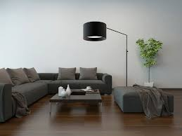 Livingroom Lamps by Living Room Illuminated With Floor Lamps To Create An Ambiance