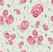 shabby chic wrapping paper floral seamless pattern with blooming roses made vintage