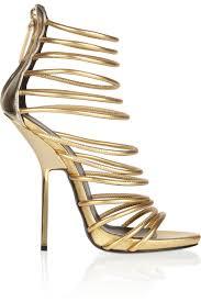 designer stiletto heels fashion trend of designer gold high heel gladiator sandals