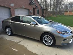 lexus silver 2017 carpro essence and reload on my new 16 atomic silver es and 14