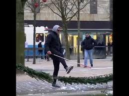 Walking Meme - blind guy walking meme youtube