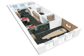 3d office design whitespace consultants