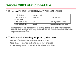 dns server u0026 client part one of two ppt download