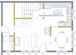 Free Home Plan Free House Plan Quaint Country Cottage Grandmas House Diy