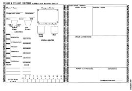 the borderlands swords u0026 wizardry whitebox character sheet