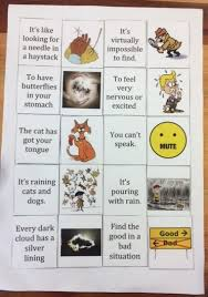 teaching idioms to english fal thinking capsresources for south