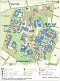 Southampton England Map by Accommodation