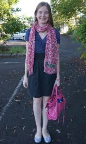 away from blue pink leopard print scarf navy and black dress