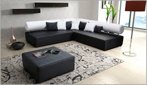 canapé d angle noir simili cuir canape angle simili cuir 308309 tetrys canapé d angle similicuir