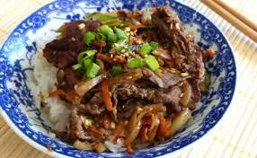 cuisine cor馥nne recette recettes de bulgogi et de cuisine coréenne