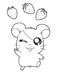 hamtaro printouts strawberry hamtaro coloring pages hamtaro