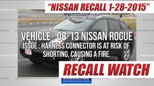 nissan pathfinder airbag recall nissan recalls 2008 13 rogue 13 14 infiniti qx60 and pathfinder