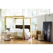 Black King Canopy Bed Astoria Regency Brass Upholstered King Canopy Bed