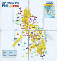 Philippine Map Fun Map Of The Philppines Violetxplorer