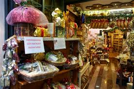 traditional italian christmas decorations decorated salumeria