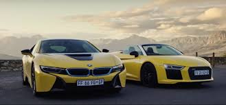 Bmw I8 Vs Audi R8 Spyder Two Different Supercars That Get Under