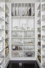 gray walk in pantry shelving design ideas