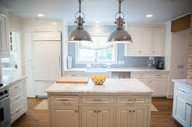 white kitchen cabinets with grey granite countertops cottage