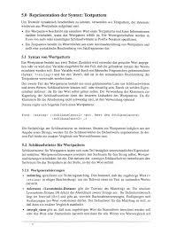 K Hen In U Form G Stig Entwurf Einer Patternbeschreibungssprache Fur Die