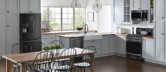 what color cabinets look with black stainless steel appliances what is black stainless steel