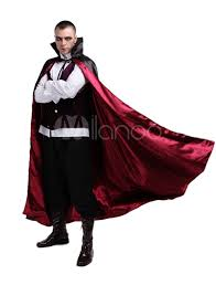 halloween vampire costume for man count dracula costume cosplay