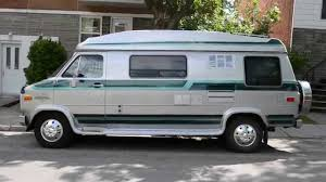 chevy motorhome old chevy g30 van rv conversion sighting youtube