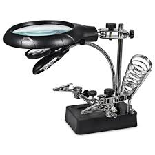 Lighted Magnifying Lamp Floor by Ottlite 2 In 1 Led Magnifier Floor And Table Light Magnifier For