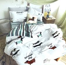 Dog Duvet Covers Dog Bed Set Great Gifts For Dog Lovers Dog Duvet Covers