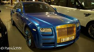 rolls royce ghost gold mansory rolls royce ghost gold blue abdullah alameri from al