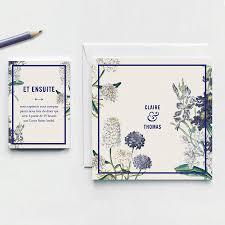 garden wedding invitations botanical garden wedding invitation by pepper