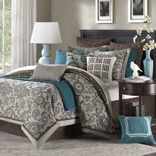 9 piece bedroom set amazon com hton hill bennett place polyester jacquard 9 piece