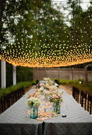 Wedding Reception Vases Breathtaking Wedding Reception Décor Ideas With String Lights