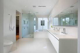 Modern Ensuite Bathrooms Robern In Bathroom Modern With White Vanity Next To Bathroom